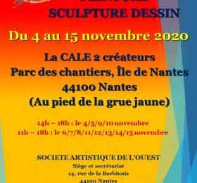 Exposition peinture, sculpture, dessin