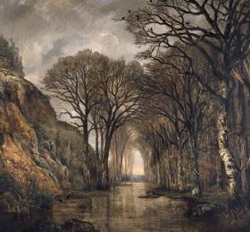 Image L'Âme de la forêt Peinture