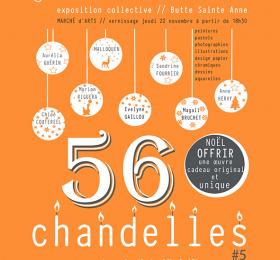 Image 56 Chandelles #5 Vente Arty de Noël Pluridisciplinaire