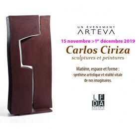 Carlos Ciriza, sculptures et peintures