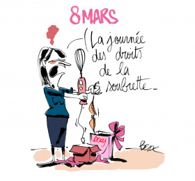 Les droits des femmes, de Daumier à nos jours