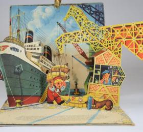 Image Exposition-vente de livres animés anciens pour enfants Art graphique