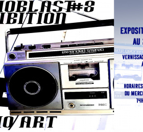 Image Exposition Audioblast #8 Pluridisciplinaire