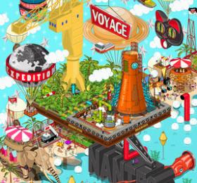 Image Expo octobre : Franck Drion (Pixelart) Art graphique