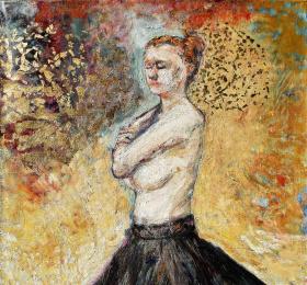 """Atelier Prisme """"la robe noire - la nuit"""""""