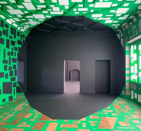 Image Georges Rousse, Polygones Art contemporain