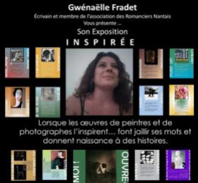 """Textes illustrés """"Inspirée"""" (Gwenäelle Fradet)"""