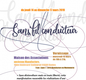 "Image ""Sans fil conducteur"" Art contemporain"