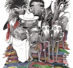 Image Les 12 Mondes Art graphique