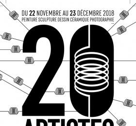 Image 20 artistes au Triphasé Art contemporain