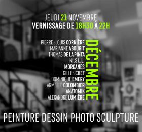 Image Décembre d'artistes au Triphasé  Art contemporain