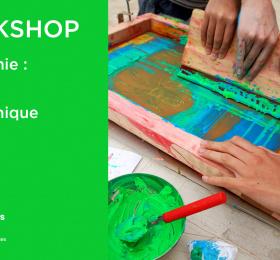 Workshop sérigraphie, initiation à la technique