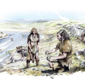 Néandertal, le temps d'une journée
