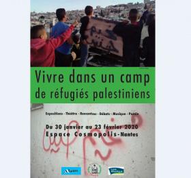 Vivre dans un camp de réfugiés palestiniens