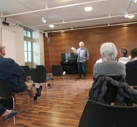 Midi de sainte-Croix : Seuphor et la poésie