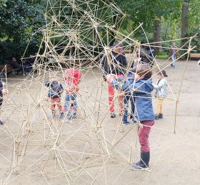 Atelier participatif d'une création en bambou