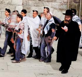 Rencontre avec le grand rabbin Olivier Kaufmann
