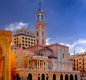 Café théo, Père Malek Chaieb, L'Église maronite