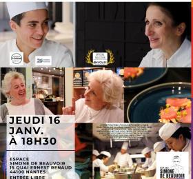 """Image Projection-débat : """"À la recherche des femmes chefs"""" Cinéma"""