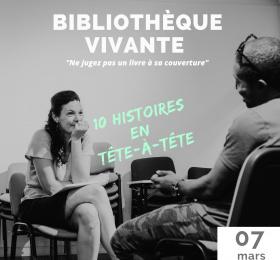 Bibliothèque vivante : les réalités des réfugiés
