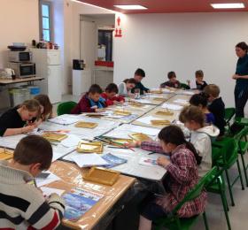Image Atelier Enfants vacances de printemps: Le vieux maître... Atelier/Stage