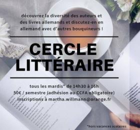 Image Cercle littéraire Animation