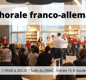 Image Répétition de la chorale franco-allemande du Centre culturel franco-allemand Animation