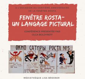 Image Fenêtre Rosta : un langage pictural innovant  Conférence/Débat
