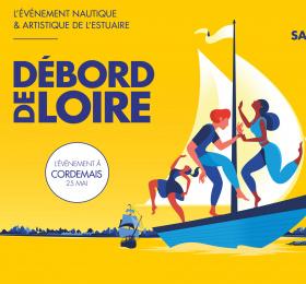 Débord de Loire à Cordemais