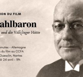 """Image Projection du film """"Der Stahlbaron/Le baron de l'acier"""" Cinéma"""