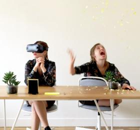 Image Electrons Libres [spécial réalité virtuelle] Animation