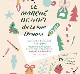 Image Le marché de noël de la rue drouet 3ème édition Marché/Vente