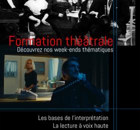 Stages théâtre