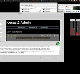 Image Hackerspace : savoir utiliser Icestream sous Gnu/Linux Atelier/Stage