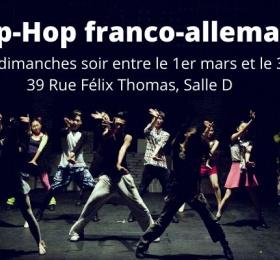 Image Atelier de Hip-Hop franco-allemand Atelier/Stage