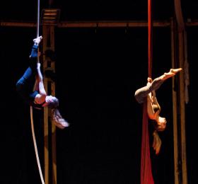 Stage d'aériens cirque