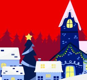 Image Marché de Noël et lancement des illuminations Marché/Vente