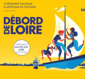 Débord de Loire à Mauves-sur-Loire
