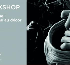 Image Workshop céramique : du volume au décor Atelier/Stage