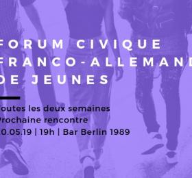 Deuxième rencontre : Forum civique franco-allemand de jeunes
