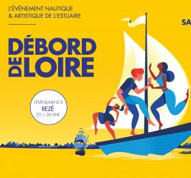 Débord de Loire à Rezé