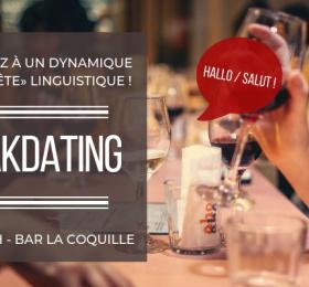 Image Speak-dating franco-allemand  Soirée