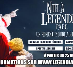 Image Noël à Legendia Parc Visites et sorties
