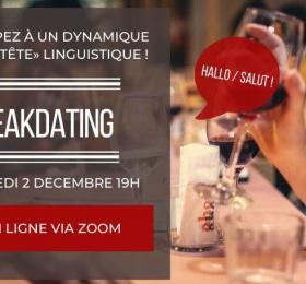 Image Speak-Dating franco-allemand du mois de décembre Rencontre