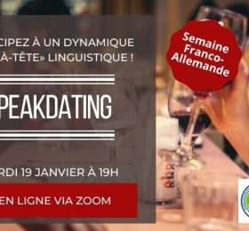 Image Speak-Dating franco-allemand du mois de janvier Rencontre