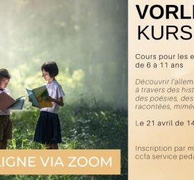 Image « Vorlesekurs », pour les enfants de 6 à 11 ans  Animation