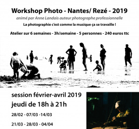 Image Atelier intensif écriture photographique Atelier/Stage