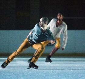 Image Glide : spectacle de patinage contemporain à Nantes Danse