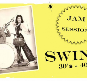 Image Jam Swing avec David Avrit + invités  Rock/Pop/Folk