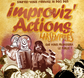 Les Improviz'actions - by Niqolah Seevah